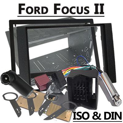 Ford Focus II Autoradio Einbauset Doppel DIN Ford Focus II Autoradio Einbauset Doppel DIN Ford Focus II Autoradio Einbauset Doppel DIN