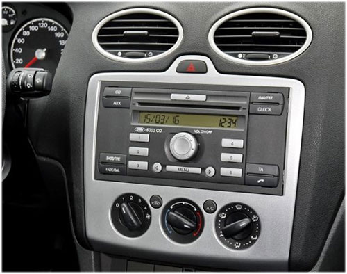 ford focus ii 2 din radio einbauset. Black Bedroom Furniture Sets. Home Design Ideas
