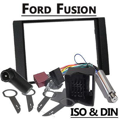Ford Fusion 2 DIN Radio Einbauset Ford Fusion 2 DIN Radio Einbauset Ford Fusion 2 DIN Radio Einbauset