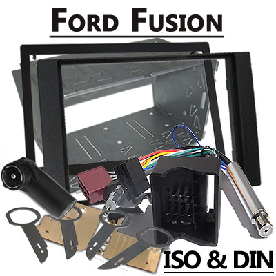 ford fusion autoradio einbauset doppel din. Black Bedroom Furniture Sets. Home Design Ideas