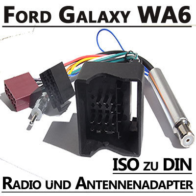 Ford Galaxy Radio Anschlusskabel DIN Antennenadapter Ford Galaxy Radio Anschlusskabel DIN Antennenadapter Ford Galaxy Radio Anschlusskabel DIN Antennenadapter