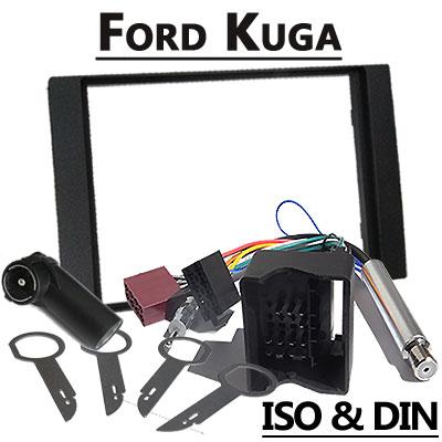 Ford Kuga 2 DIN Radio Einbauset Ford Kuga 2 DIN Radio Einbauset Ford Kuga 2 DIN Radio Einbauset