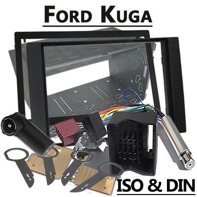 Ford-Kuga-Autoradio-Einbauset-Doppel-DIN