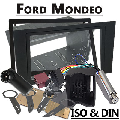 ford mondeo autoradio einbauset doppel din. Black Bedroom Furniture Sets. Home Design Ideas