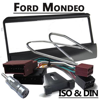 Ford-Mondeo-Autoradio-Einbauset-für-1-DIN-Radios