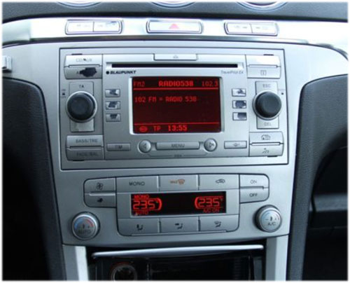 Ford-S-Max-Radio-2007 Ford S-Max Radioblende und Adapter anthrazit Ford S-Max Radioblende und Adapter anthrazit Ford S Max Radio 2007
