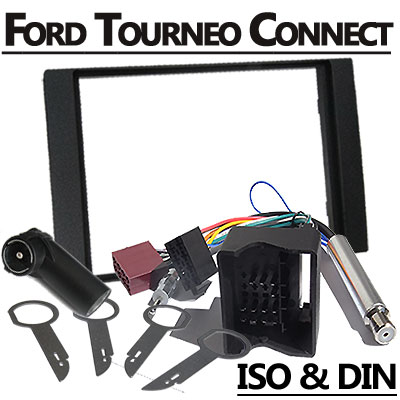 Ford-Tourneo-Connect-2-DIN-Radio-Einbauset