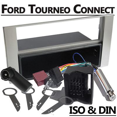 Ford Tourneo Connect Radioeinbauset 1 DIN mit Fach Silber Ford Tourneo Connect Radioeinbauset 1 DIN mit Fach Silber Ford Tourneo Connect Radioeinbauset 1 DIN mit Fach Silber