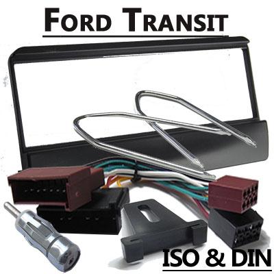 Ford-Transit-Autoradio-Einbauset-für-1-DIN-Radios