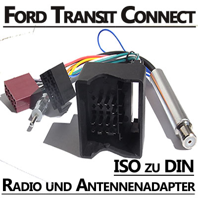 Ford Transit Conncet Radio Anschlusskabel DIN Antennenadapter Ford Transit Conncet Radio Anschlusskabel DIN Antennenadapter Ford Transit Conncet Radio Anschlusskabel DIN Antennenadapter