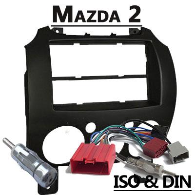 Mazda 2 Autoradio Einbauset mit Radio und Antennenadapter Mazda 2 Autoradio Einbauset mit Radio und Antennenadapter Mazda 2 Autoradio Einbauset mit Radio und Antennenadapter