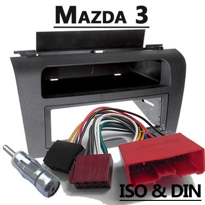 mazda 3 autoradio einbauset mit antennenadapter Mazda 3 Autoradio Einbauset mit Antennenadapter Mazda 3 Autoradio Einbauset mit Antennenadapter