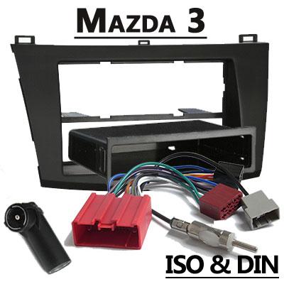 Mazda 3 BL Autoradio Einbauset mit Radio und Antennenadapter Mazda 3 BL Autoradio Einbauset mit Radio und Antennenadapter Mazda 3 BL Autoradio Einbauset mit Radio und Antennenadapter