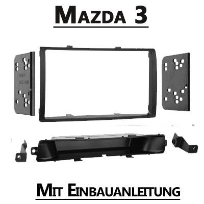 Mazda-3-Doppel-DIN-Radioblende