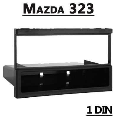 Mazda-323-1-DIN-Radioblende
