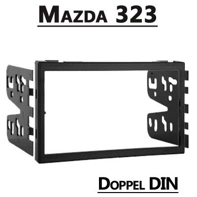 Mazda-323-Doppel-DIN-Radioblende