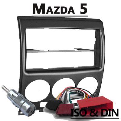 Mazda 5 CR Autoradio Einbauset mit Radio und Antennenadapter Mazda 5 CR Autoradio Einbauset mit Radio und Antennenadapter Mazda 5 CR Autoradio Einbauset mit Radio und Antennenadapter