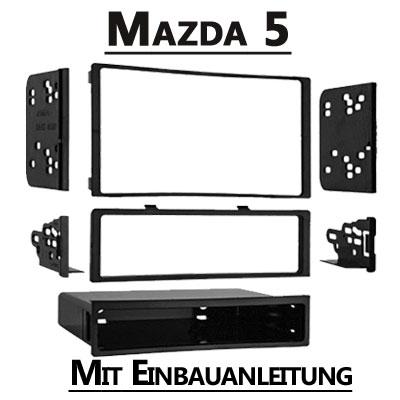 Mazda-5-Typ-CR-1-DIN-oder-Doppel-DIN-Radioblende