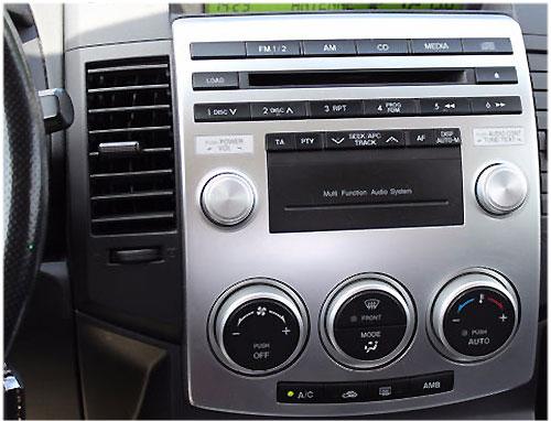 Mazda-5-Typ-CR-Radio-2007 Mazda 5 CR Autoradio Einbauset mit Radio und Antennenadapter Mazda 5 CR Autoradio Einbauset mit Radio und Antennenadapter Mazda 5 Typ CR Radio 2007