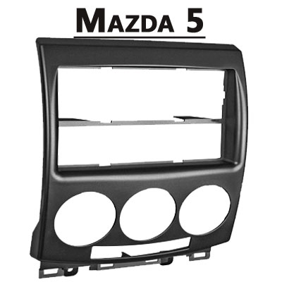 Mazda-5-Typ-CR-Radioblende-silber