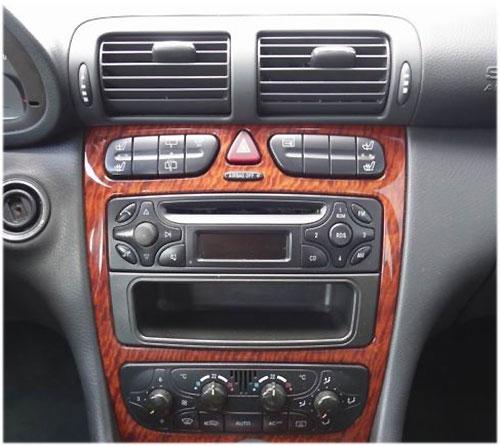 Mercedes-Benc-C200-Radio-2003 Mercedes-Benz C 200 Autoradio Einbauset Doppel DIN Mercedes-Benz C 200 Autoradio Einbauset Doppel DIN Mercedes Benc C200 Radio 2003