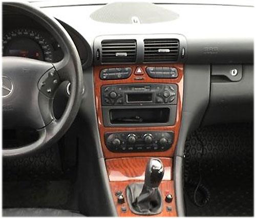 Mercedes-Benc-C220-Radio-2002 mercedes c230 lenkradfernbedienung mit 2 din autoradio einbauset Mercedes C230 Lenkradfernbedienung mit 2 DIN Autoradio Einbauset Mercedes Benc C220 Radio 2002