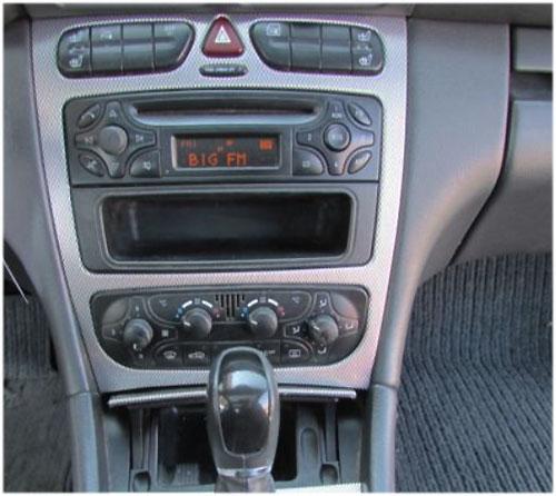 Mercedes-Benc-C230-Radio-2002 Mercedes-Benz C 230 Autoradio Einbauset Doppel DIN Mercedes-Benz C 230 Autoradio Einbauset Doppel DIN Mercedes Benc C230 Radio 2002