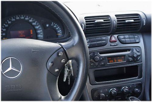 Mercedes-Benc-C270-Radio-2001 mercedes c270 lenkradfernbedienung mit 2 din autoradio einbauset Mercedes C270 Lenkradfernbedienung mit 2 DIN Autoradio Einbauset Mercedes Benc C270 Radio 2001