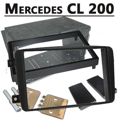 Mercedes-CL-200-Doppel-DIN-Radio-Einbaurahmen