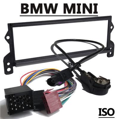 mini one autoradio einbauset mit antennenadapter iso 17pin Mini One Autoradio Einbauset mit Antennenadapter ISO 17PIN Mini One Autoradio Einbauset mit Antennenadapter ISO 17PIN