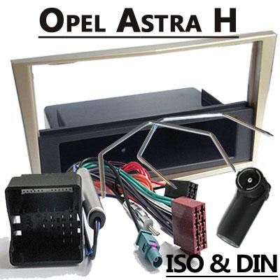 Opel Astra H Radioeinbauset 1 DIN champagne mit Fach Opel Astra H Radioeinbauset 1 DIN champagne mit Fach Opel Astra H Radioeinbauset 1 DIN champagne mit Fach