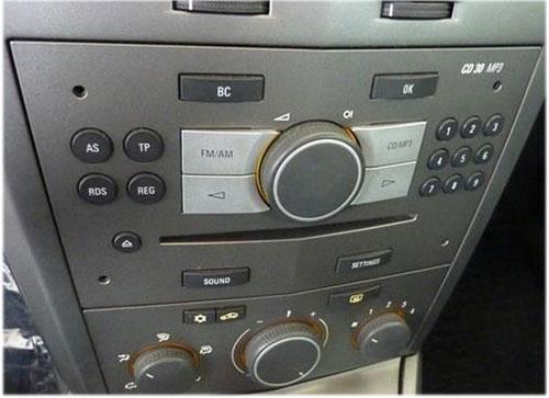 Opel-Astra-Radio-2007 opel astra h radioeinbauset 1 din dunkelsilber Opel Astra H Radioeinbauset 1 DIN dunkelsilber Opel Astra Radio 2007