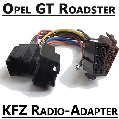 Opel-GT-Roadster-Autoradio-Anschlusskabel