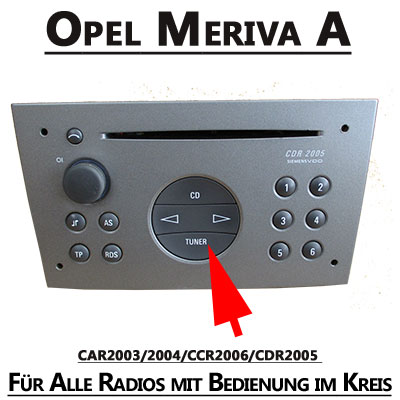 opel meriva a autoradio einbauset doppel din schwarz. Black Bedroom Furniture Sets. Home Design Ideas