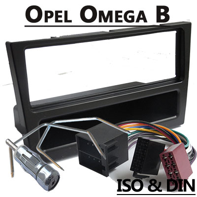 Opel Omega Autoradio Einbauset 1 DIN mit Fach schwarz Opel Omega Autoradio Einbauset 1 DIN mit Fach schwarz Opel Omega Autoradio Einbauset 1 DIN mit Fach schwarz