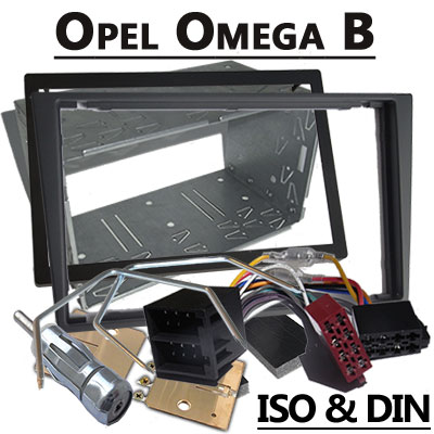 opel omega radioeinbauset doppel din dunkelsilber Opel Omega Radioeinbauset Doppel DIN dunkelsilber Opel Omega Radioeinbauset Doppel DIN dunkelsilber