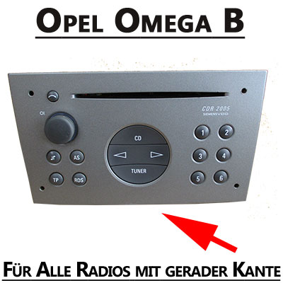 Opel-Omega-VDO-Radio-2000-2003