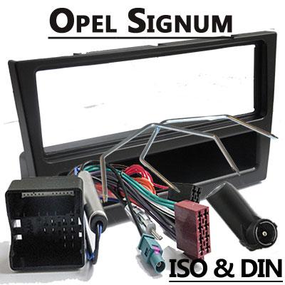 Opel Signum Autoradio Einbauset 1 DIN schwarz ab 2005 Opel Signum Autoradio Einbauset 1 DIN schwarz ab 2005 Opel Signum Autoradio Einbauset 1 DIN schwarz ab 2005