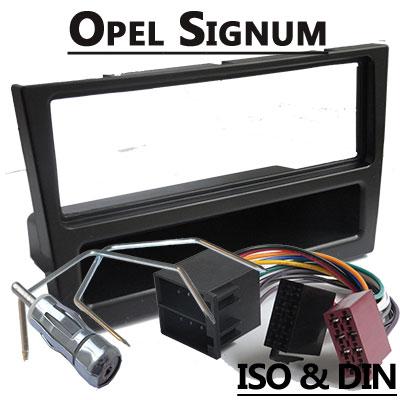 Opel Signum Autoradio Einbauset 1 DIN schwarz bis 2005 Opel Signum Autoradio Einbauset 1 DIN schwarz bis 2005 Opel Signum Autoradio Einbauset 1 DIN schwarz bis 2005