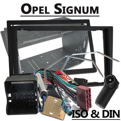 Opel Signum Autoradio Einbauset Doppel DIN schwarz ab 2005 Opel Signum Autoradio Einbauset Doppel DIN schwarz ab 2005 Opel Signum Autoradio Einbauset Doppel DIN schwarz ab 2005