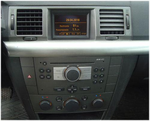 Opel-Signum-Radio-2006 Opel Signum Radioeinbauset 1 DIN dunkelsilber ab 2005 Opel Signum Radioeinbauset 1 DIN dunkelsilber ab 2005 Opel Signum Radio 2006