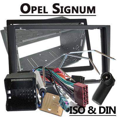 Opel Signum Radioeinbauset Doppel DIN dunkelsilber ab 2005 Opel Signum Radioeinbauset Doppel DIN dunkelsilber ab 2005 Opel Signum Radioeinbauset Doppel DIN dunkelsilber ab 2005