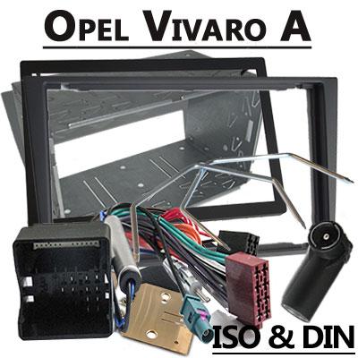 Opel Vivaro Radioeinbauset Doppel DIN dunkelsilber ab 2006 Opel Vivaro Radioeinbauset Doppel DIN dunkelsilber ab 2006 Opel Vivaro Radioeinbauset Doppel DIN dunkelsilber ab 2006