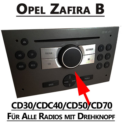 radiozubeh r opel zafira autoradio adapter radio. Black Bedroom Furniture Sets. Home Design Ideas