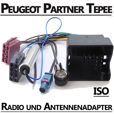 Peugeot Partner Tepee Radio Adapterkabel ISO Antennenadapter Peugeot Partner Tepee Radio Adapterkabel ISO Antennenadapter Peugeot Partner Tepee Radio Adapterkabel ISO Antennenadapter
