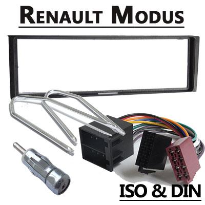 Renault Modus Autoradio Einbauset 1 DIN Renault Modus Autoradio Einbauset 1 DIN Renault Modus Autoradio Einbauset 1 DIN