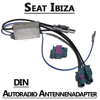 Seat Ibiza Antennenadapter mit Antennendiversity DIN Seat Ibiza Antennenadapter mit Antennendiversity DIN Seat Ibiza Antennenadapter mit Antennendiversity DIN