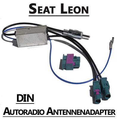 Seat Leon Antennenadapter mit Antennendiversity DIN Seat Leon Antennenadapter mit Antennendiversity DIN Seat Leon Antennenadapter mit Antennendiversity DIN