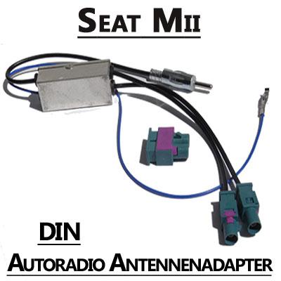 Seat Mii Antennenadapter mit Antennendiversity DIN Seat Mii Antennenadapter mit Antennendiversity DIN Seat Mii Antennenadapter mit Antennendiversity DIN
