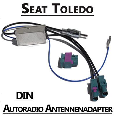 seat toledo antennenadapter mit antennendiversity din Seat Toledo Antennenadapter mit Antennendiversity DIN Seat Toledo Antennenadapter mit Antennendiversity DIN